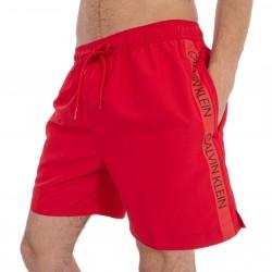 Shorts da bagno Medium Drawstring - rosso - CALVIN KLEIN KM0KM00294-445