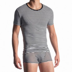 T-shirt Casual Tee Captain - MANSTORE *210945-4039