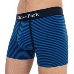 Boxer Eden Park rayé bleu nuit / marine