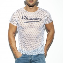 Open mesh t-Shirt - ES COLLECTION TS254 C01