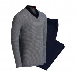 Pyjama Impetus rayé - IMPETUS 4547G54-039