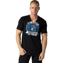 acheter-des-articles-de-mode-pour-homme-Timotéo-T-shirt VNeck noir - T-shirt manches courtes