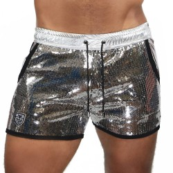 Short Broadway silver - TOF PARIS SH0018A