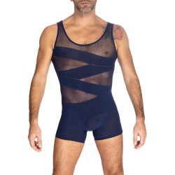 Curio - Body Sans Coutures Marine - L'HOMME INVISIBLE FW01-049