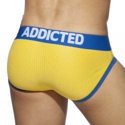 Dick-up Bikini brief - jaune - ADDICTED AD815 C03