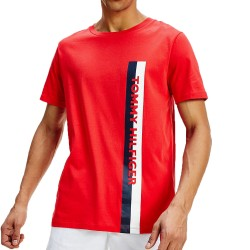 T-shirt Tommy Crew Neck Tee - Red Glare - TOMMY HILFIGER UM0UM01744-XL7