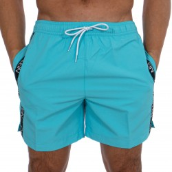 Short de bain Medium Drawstring - Bluefish - CALVIN KLEIN -KM0KM00434-DW9