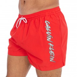 Short de bain Drawstring - High Risk - CALVIN KLEIN -KM0KM00442-XBG