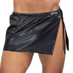 Gladiator Skirt Black - TOF PARIS JU002N