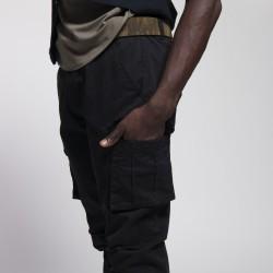 Pantalon Cargo - noir - ES COLLECTION ESJ053 C10