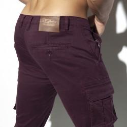 Pantalon Cargo - burgundy - ES COLLECTION ESJ053 C29