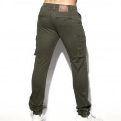 Pantalon Cargo - kaki - ES COLLECTION ESJ053 C12