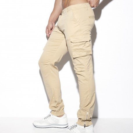 Pantalon Cargo - beige - ES COLLECTION ESJ053 C28