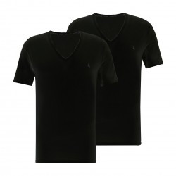 2 Pack Lounge T-shirts - CK ONE black - CALVIN KLEIN -NB2408A-001