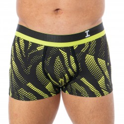 Boxer I am what i wear à motifs graphiques vert fluo - I AM WHAT I WEAR 1208H52-H87