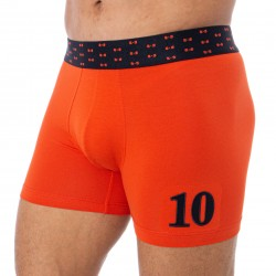 Boxer ceinture noeuds papillon - orange - EDEN PARK E644F07 E89