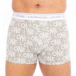 Boxer - CK ONE stretch logo grigio - CALVIN KLEIN -NB2216A-LP5