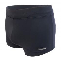 Boxer de bain - Core Solids noir - CALVIN KLEIN KM0KM00418-BEH