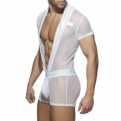 C Trought Sexy suit - blanc - ADDICTED AD844 C01