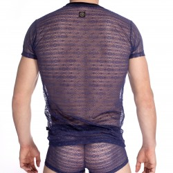 Dillys - T-shirt Col V - L'HOMME INVISIBLE MY61D-DIL-B46