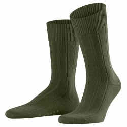Chaussettes Lhasa Rib - forest - FALKE 14423-7657