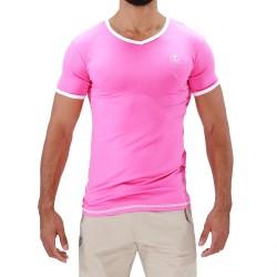 Hola T-shirt Pink - TOF PARIS TS0047P