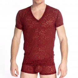 Delos Rouge - T-shirt - L'HOMME INVISIBLE MY73-DEL-X52
