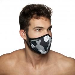 Masque à rayures - marin - ADDICTED AC087-C17MOD