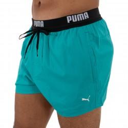 Short de bain court PUMA Swim Logo - aqua -  100000030-003
