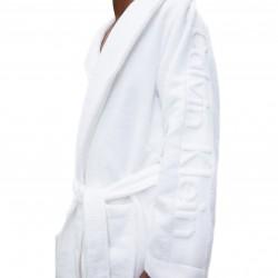 Peignoir Calvin Klein - blanc - CALVIN KLEIN EM1159E-100