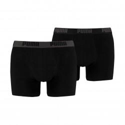 Lot de deux boxeurs Basic - noir - PUMA 521015001-230