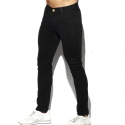 Pantalon Slim - noir - ES COLLECTION ESJ057-C10