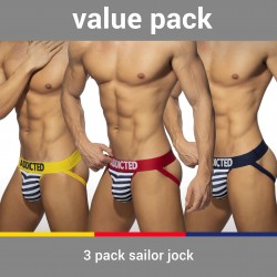 Sailor mesh brief (Lot of 3) - ADDICTED AD966P 3COL