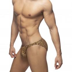 Bikini de bain Léopard Stripe - marron - ADDICTED ADS270-C13