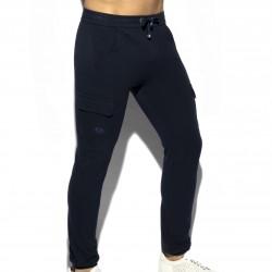 Pantalon Pique - bleu marine - ES COLLECTION SP259 C09