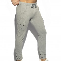 Pantalon Pique - gris - ES COLLECTION SP259 C11