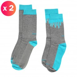 SKM-RAY-TWOPACK - Chaussettes Ray ( Lot de 2 ) - DIESEL *00SAYH-0EASY-E3840
