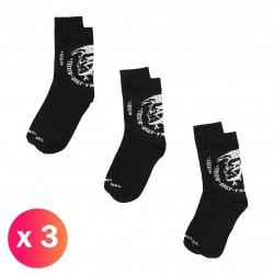 SKM-RAY-THREEPACK - Chaussettes ( lot de 3 ) noir - DIESEL 00SAYH-0EASX-900