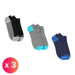 SKM-GOST-THREEPACK - Socquettes ( lot de 3 ) - DIESEL 00SI8H-0CASN-E3839