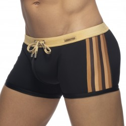 Shorty de bain black striped - or - ADDICTED ADS282-C20