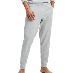 Jogging en coton bio à logo - gris - TOMMY HILFIGER UM0UM01769-P6S