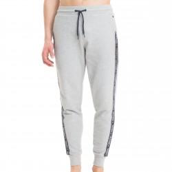 Pantalon de survêtement en coton bouclé - gris - TOMMY HILFIGER UM0UM00706-004
