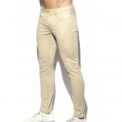 Pantalon Slim - beige - ES COLLECTION ESJ057-C28