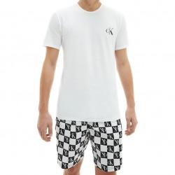 Pyjama CK ONE - Blanc - CALVIN KLEIN NM2128E-JG2