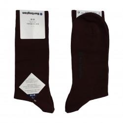 acheter-des-chaussettes-pour-homme-Burlington-Chaussettes CityBurli couleur bordeaux-chaussettes