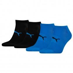 Lot de 2 paires de chaussettes Performance Train Light - bleu et noir - PUMA 271003001-021