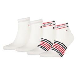 Lot de 2 paires de socquettes - blanc - TOMMY HILFIGER 100002212-001
