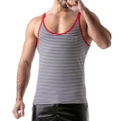 Débardeur Stripes Rouge - TOF PARIS TOF112R