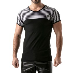 T-Shirt Stripes Noir - TOF PARIS TOF114NN