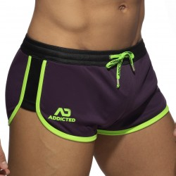 Short MIX - violet - ADDICTED AD956-C19